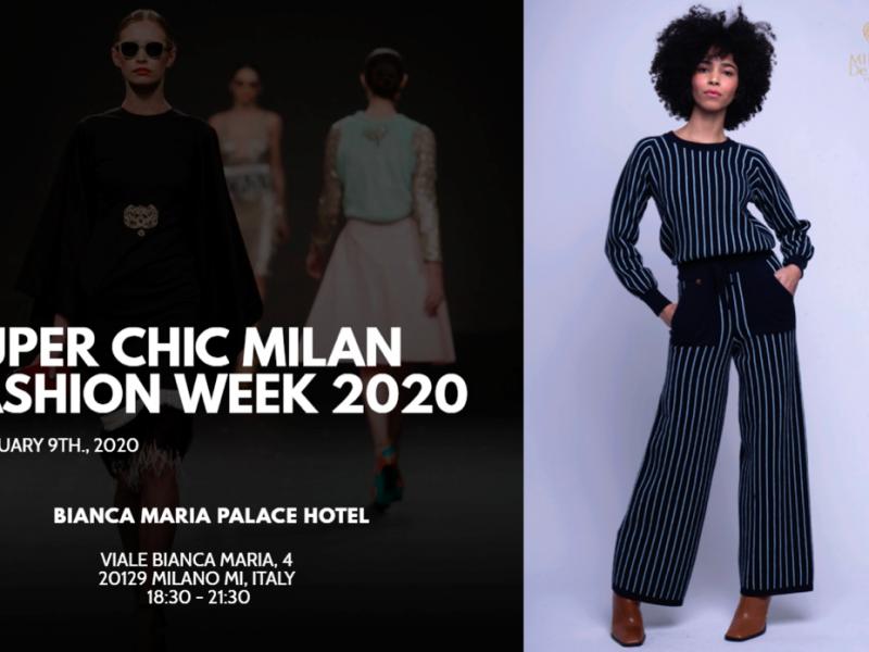Super Chic Milano Fashion Week & Women Talent System presentano Mirella De Mori