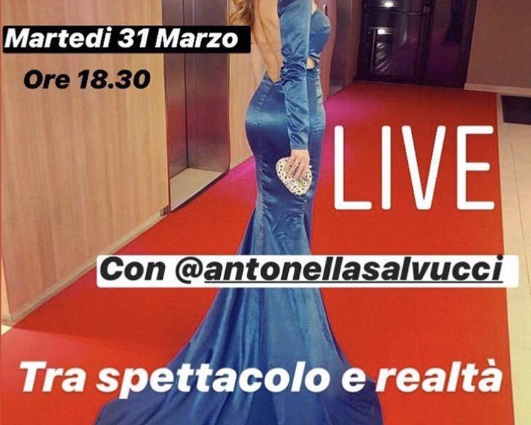 SPETTACOLO E REALTA': LIVE CON ANTONELLA SALVUCCI