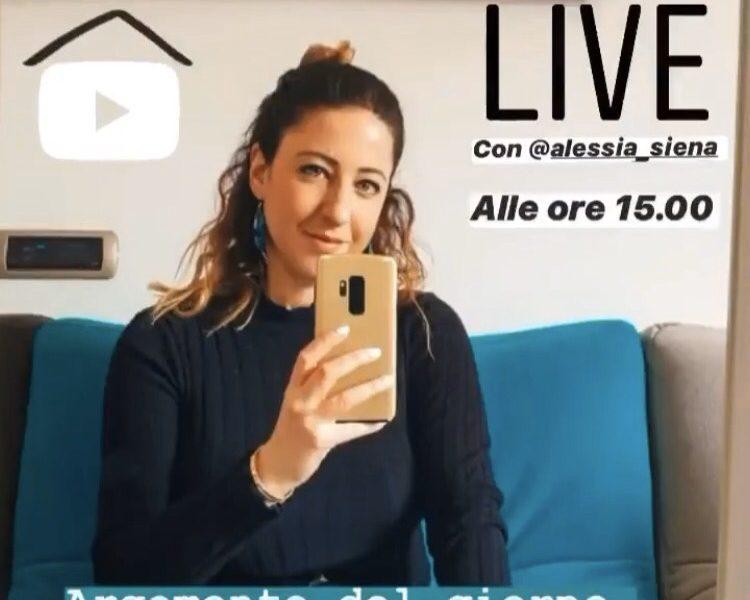 IMPRENDITORIA E SPIRITUALITA': LIVE CON ALESSIA SIENA