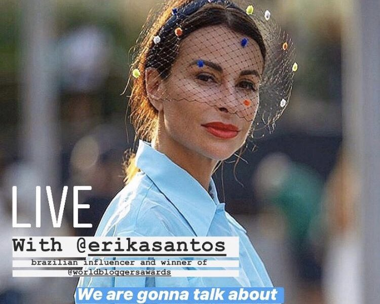 HOW TO DO GOOD USING INSTAGRAM: LIVE WITH ERIKA SANTOS
