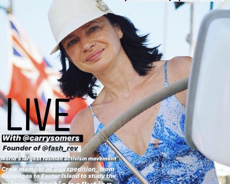 FASHION TRANSPARENCY: LIVE CON CARRY SOMERS